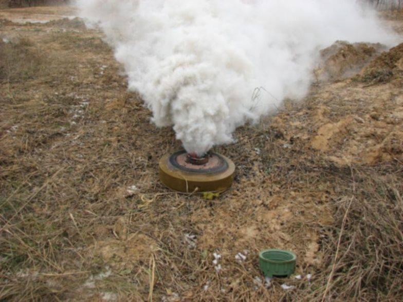 Армейская дымовая шашка ️