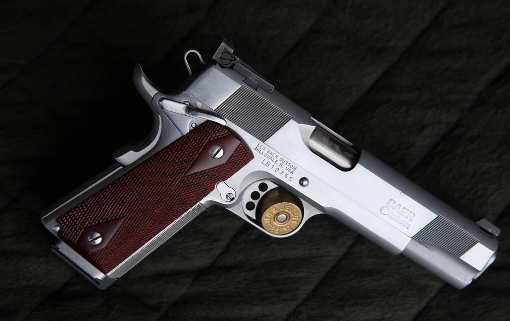 Les baer 1911 monolith пистолет — характеристики, фото, ттх