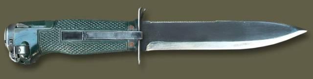 Многозарядные стреляющие ножи