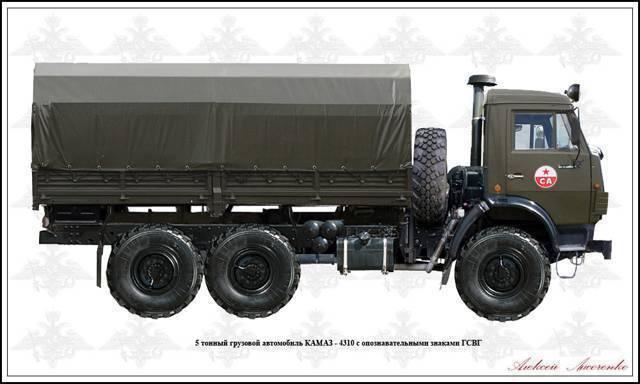 Камаз-4310 расход топлива на 100 км.