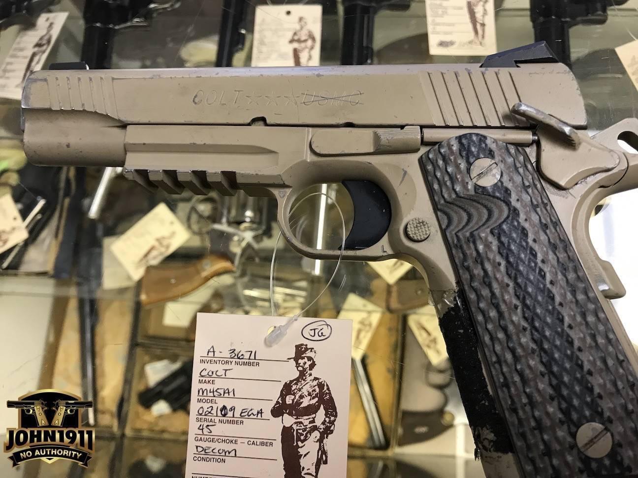 Пистолет Colt MARSOC M45