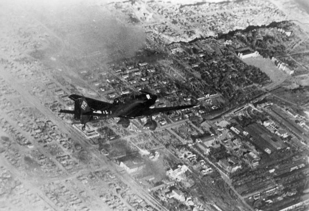 Ju-87 – «бородач» Люфтваффе