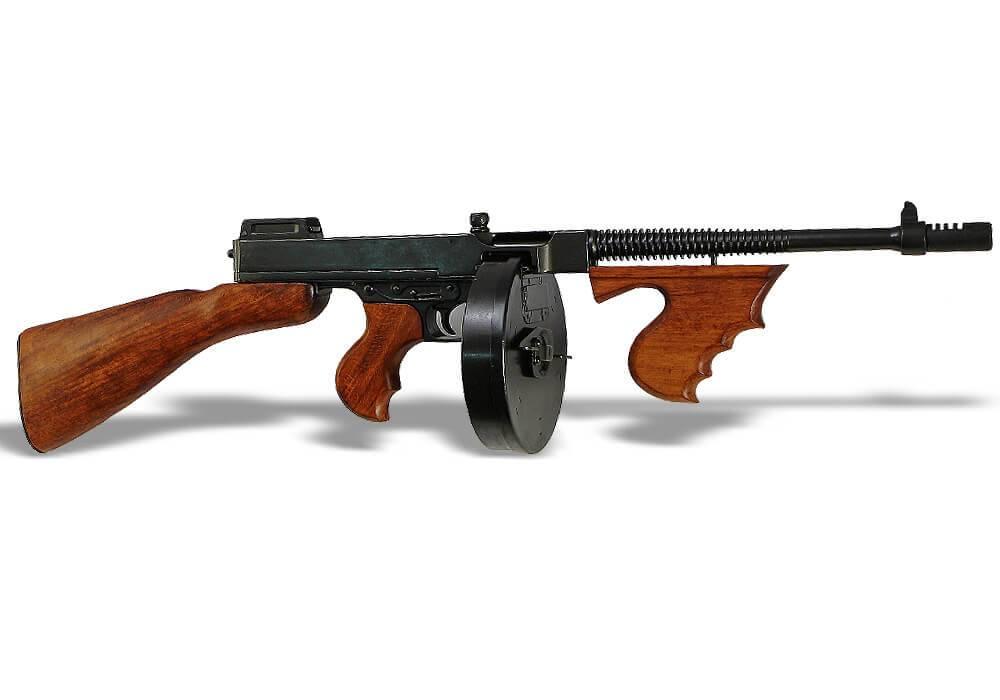 Пулемет томпсона: фото, тактико-технические характеристики. автомат томпсона — история появления и обзор ттх томми ган оружие