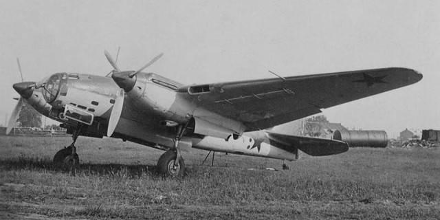 Самолет петляков пе-2. фото. история. характеристики.