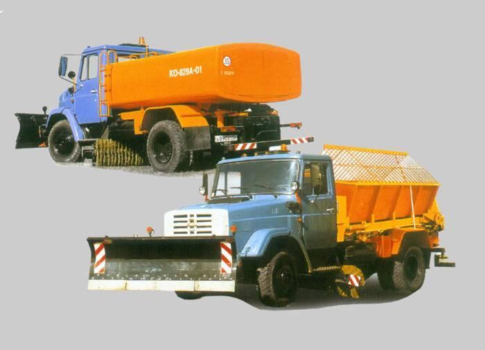 Машины коммунальные комбинированные ко-713н