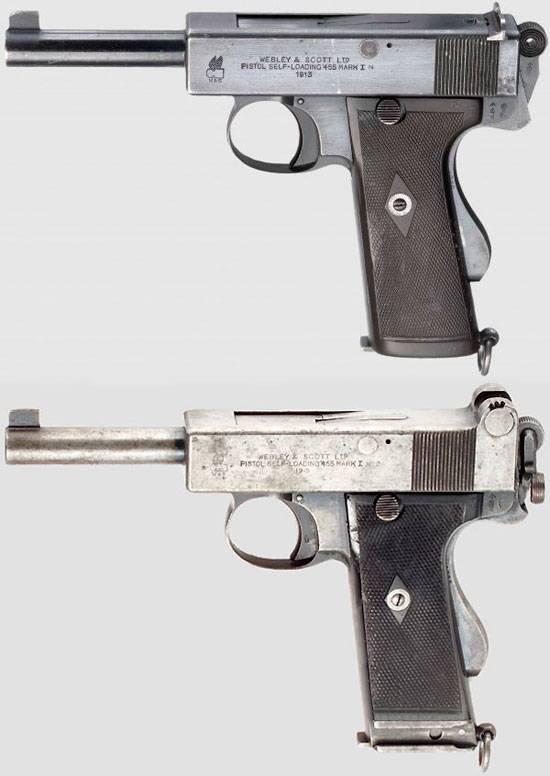 Пистолет webley & scott m1920