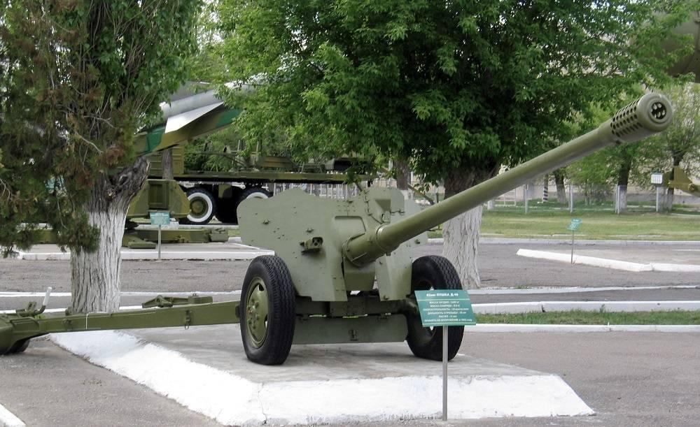 Советская 85-мм противотанковая пушка Д-48 1953 года – серьезное усиление средств ПТО Советской Армии