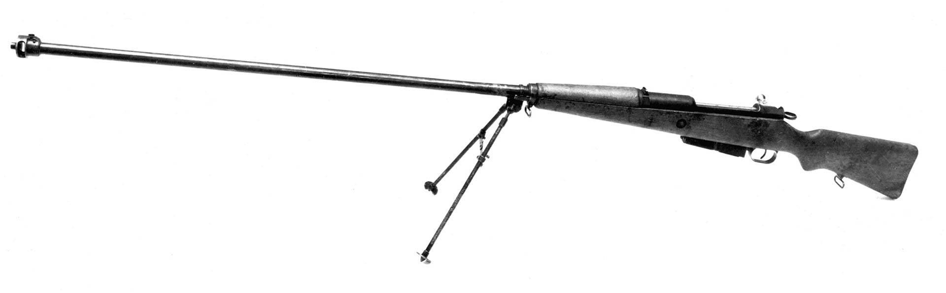 Противотанковое ружье марошека-секретное оружие польши