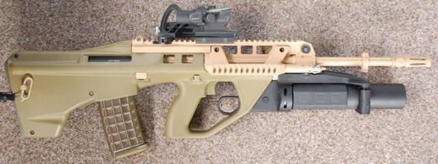Thales f90 штурмовая винтовка — характеристики, фото, ттх