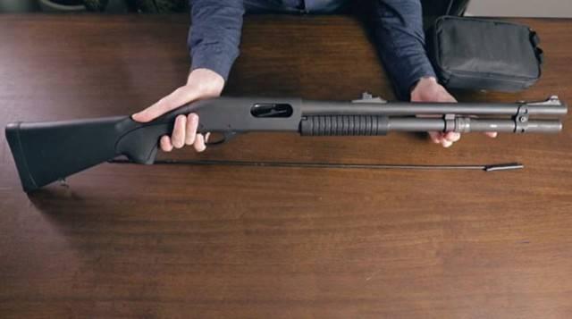 Гладкоствольное ружье Mossberg 590A1 SPX