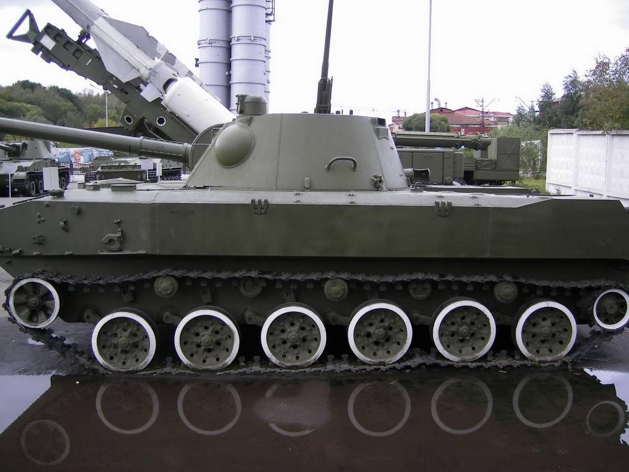 Самоходное артиллерийское орудие 2с23 «нона-свк»