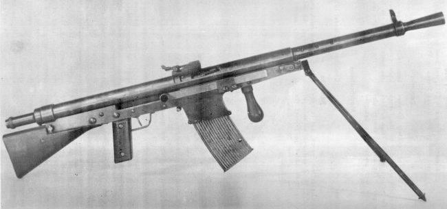 Лёгкий ручной пулемёт «шошо» википедия