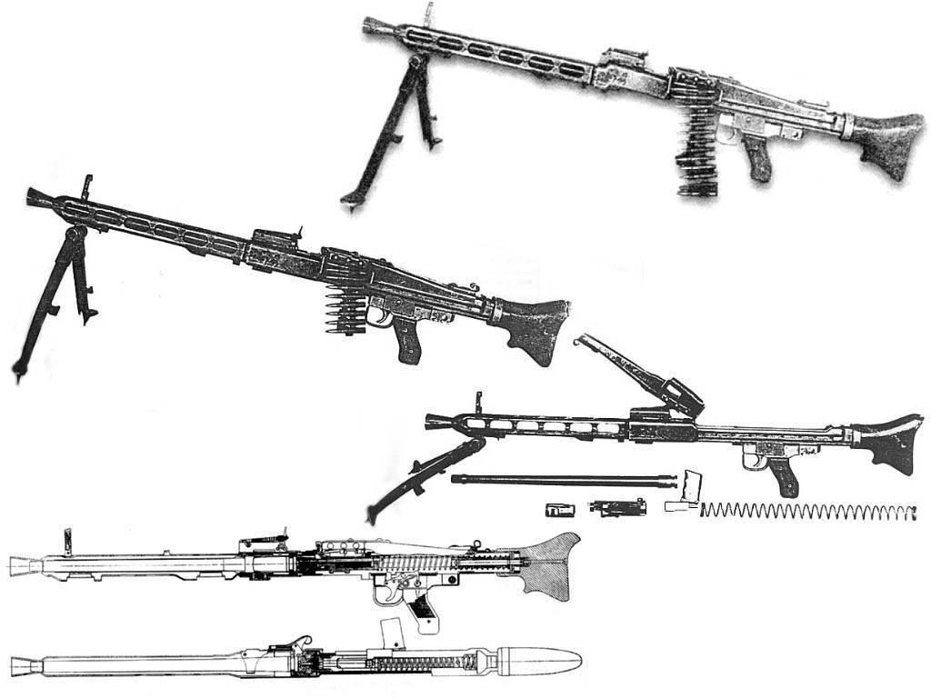 Немецкий пулемет mg.42: история создания и подробный обзор