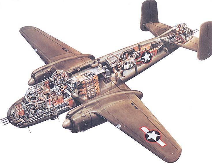 Норт америкэн b-25 «митчелл»