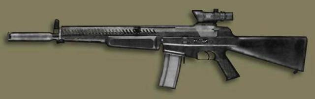 Штурмовая винтовка aai acr