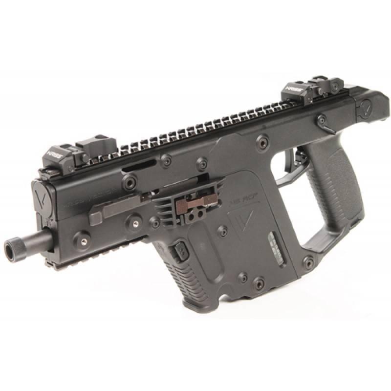 Пистолет-пулемёт kriss vector. оружие, в которое сложно не влюбиться