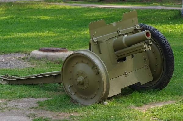 76-мм универсальная дивизионная пушка обр. 1933 года.