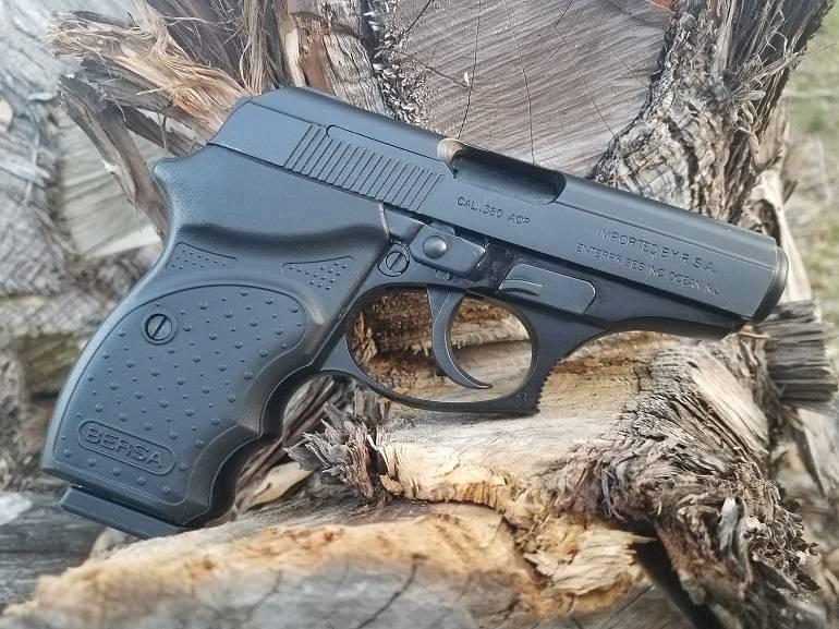 Пистолет bersa thunder 380