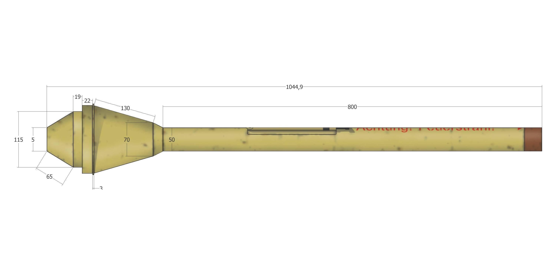 Немецкий гранатомет вермахта фаустпатрон: история создания и характеристики