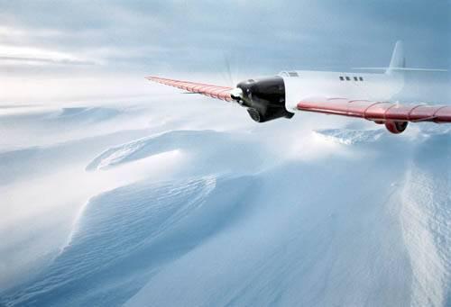 Беспосадочный перелёт москва — северный полюс — ванкувер