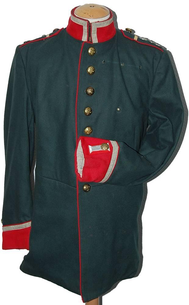 Одевать военный мундир