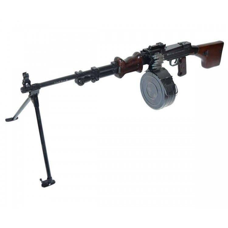 Пулемёт рпд (ручной пулемёт дегтярёва): характеристики, устройство, история