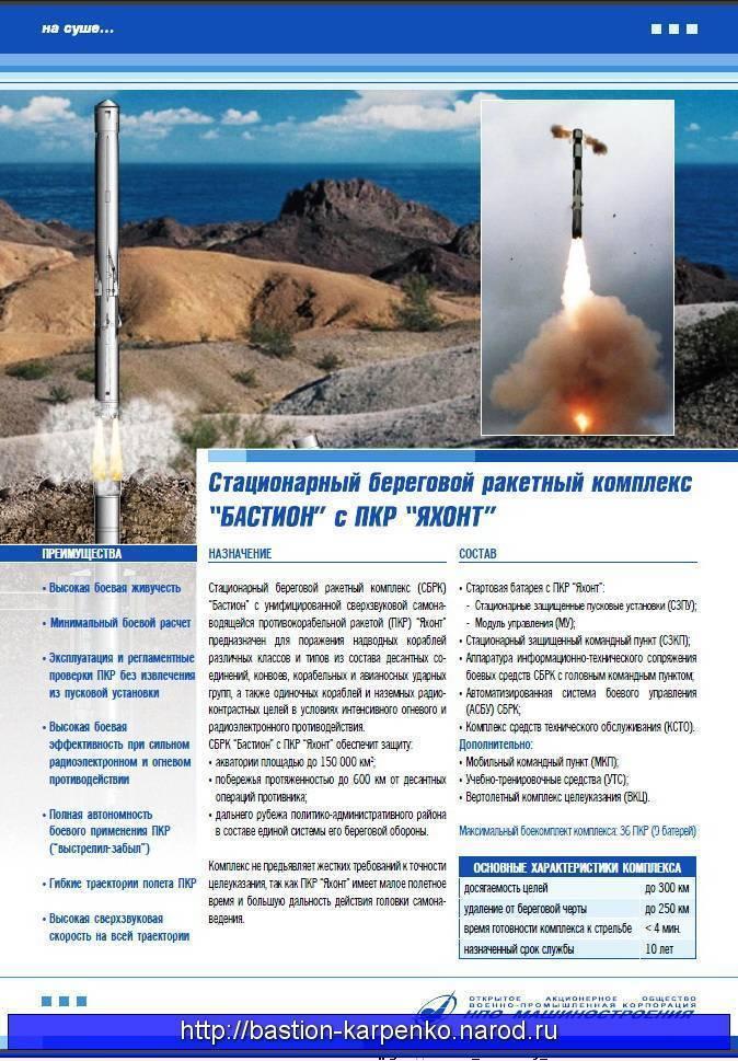 Бастион (береговой ракетный комплекс)