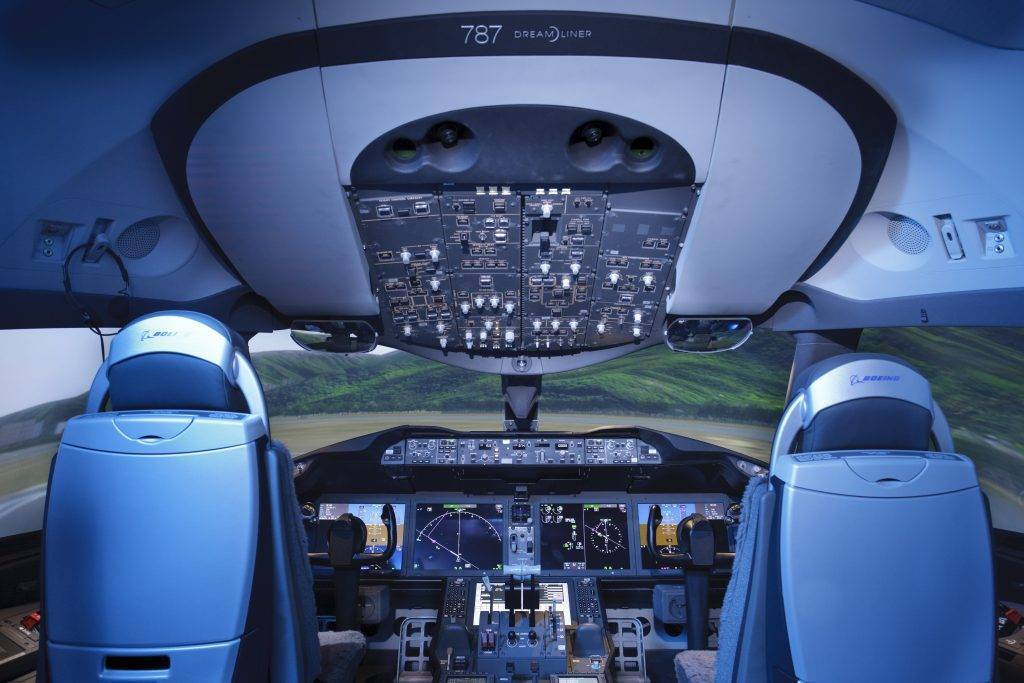 Боинг 787 800 — схема салона