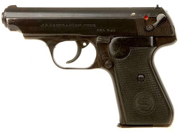 Самозарядные пистолеты (74 стр.)