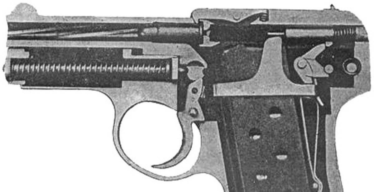 Пистолет коровина (тк). общие сведения, разборка, полное руководство. пистолет-револьвер литература по стрельбе пули для стрельбы каталог оружия боевой пистолет-револьвер коровина тк