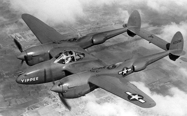 Lockheed p-38 lightning — википедия