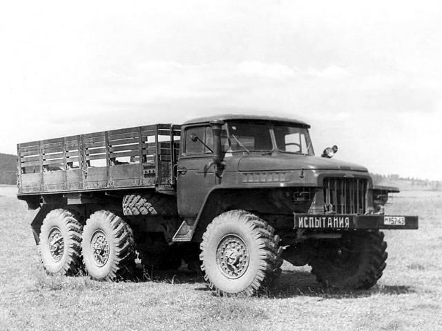 Урал-375д - wiki