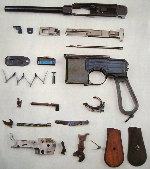 Mauser c96 википедия