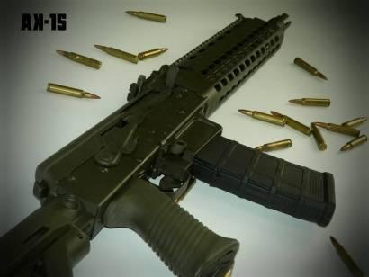 Автоматическая винтовка sig ak-53