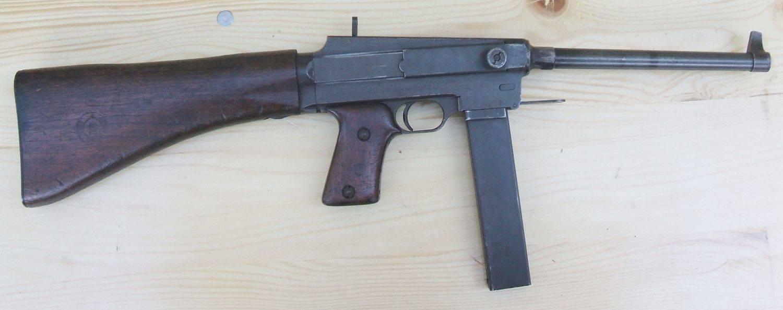 Пистолет sacm modеle 1935