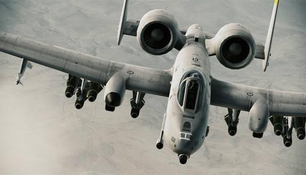 Fairchild republic a-10 thunderbolt ii википедия