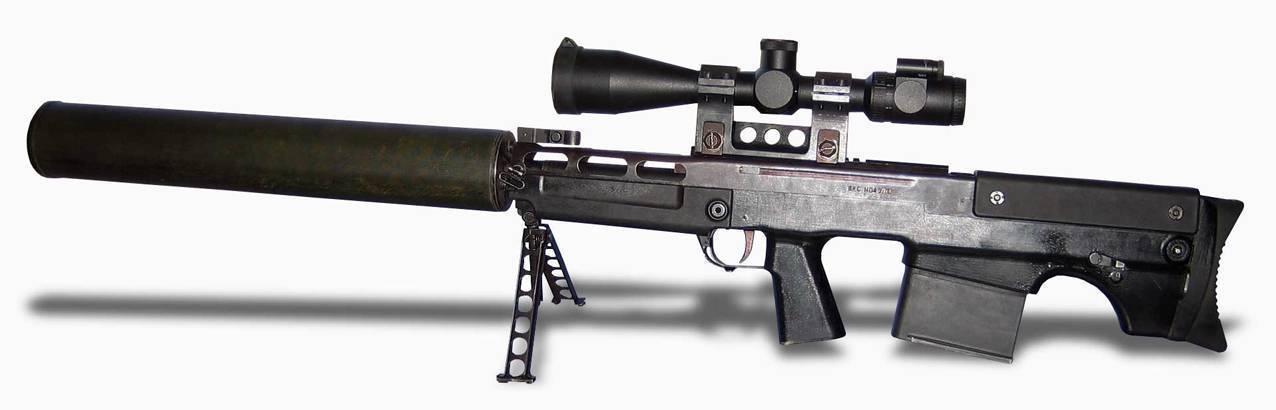 Выхлоп (снайперская винтовка) википедия