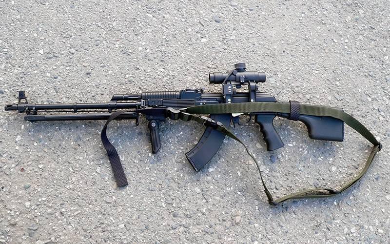 Рпк-74. ручной пулемет калашникова (рпк) - 74: краткая краткая характеристика. фото