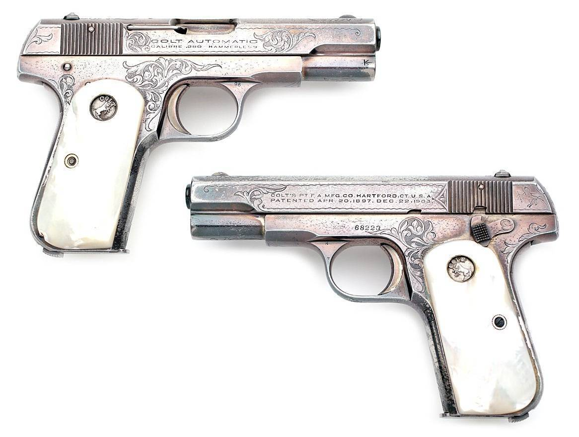 Colt model 1903 pocket hammerless
