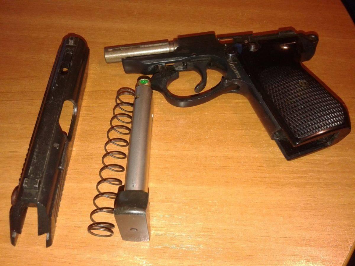 История и устройство травматического пистолета ae 15g производства шмайсер