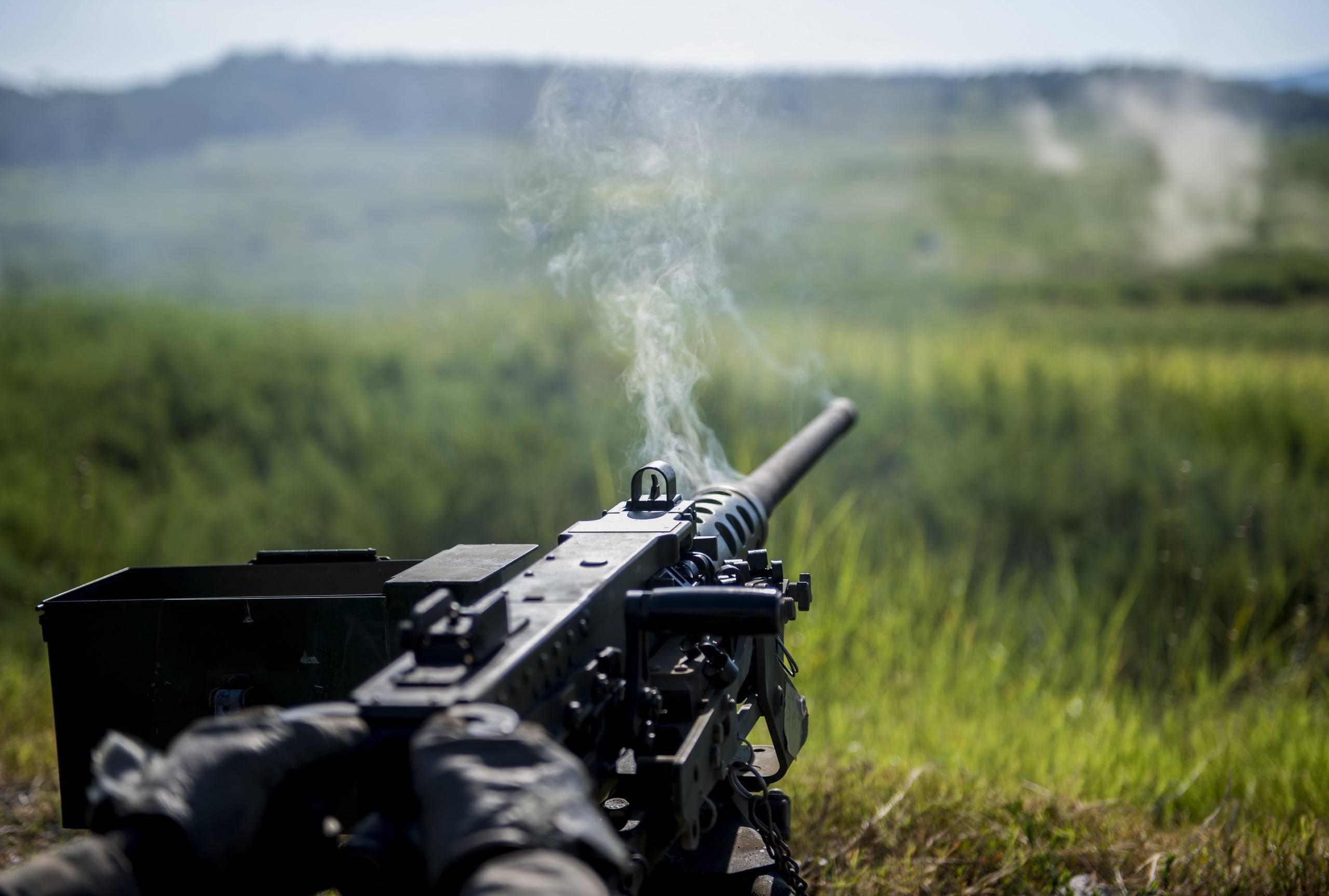 Пулемет m2