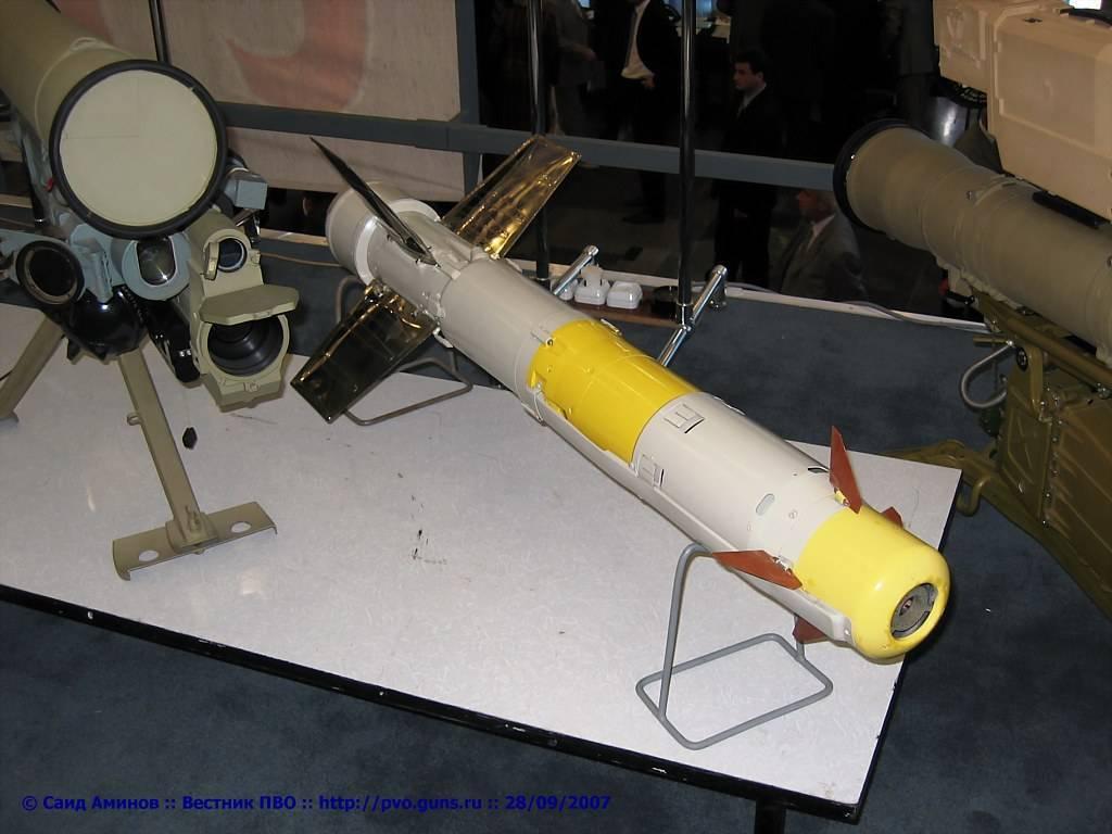 Противотанковый ракетный комплекс конкурс-м