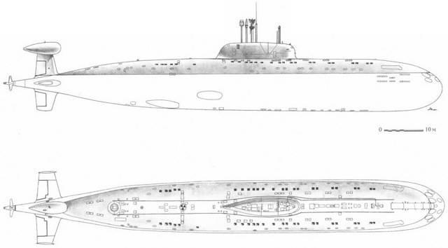 Подводные лодки проекта 945 «барракуда» — википедия