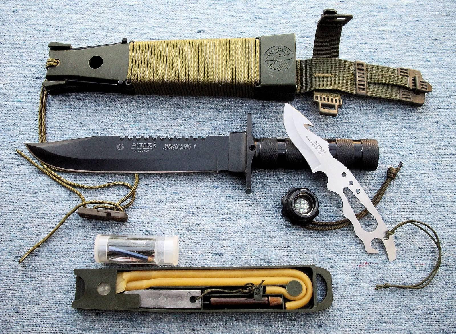 Коллекционные и боевые разновидности ножей мачете