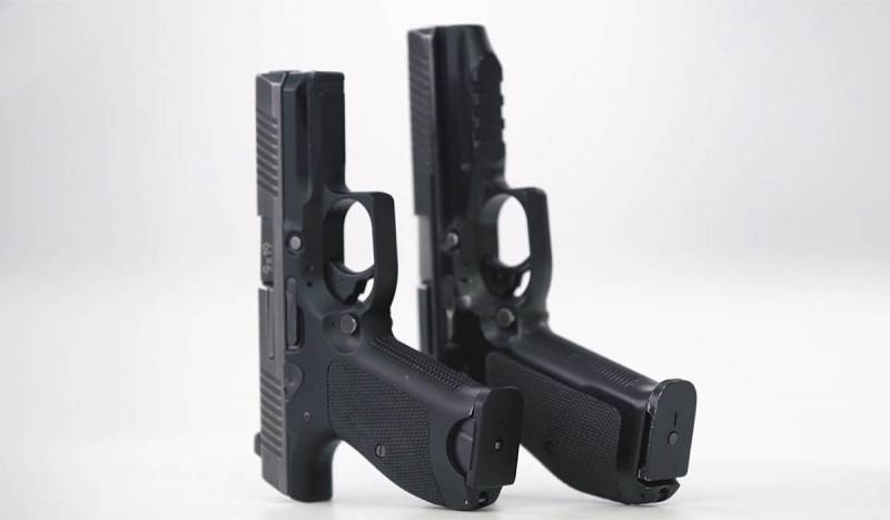 Армейский пистолет в россии