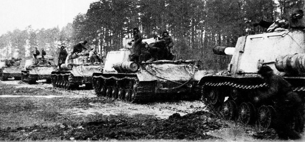 Самоходная артиллерийская установка ису-122