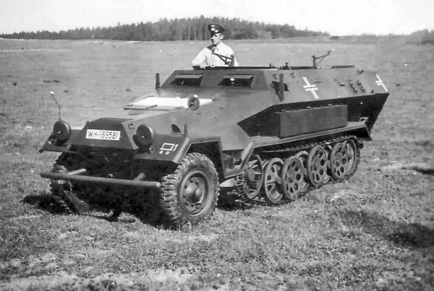 Специализированные варианты бронетранспортера sd.kfz. 250