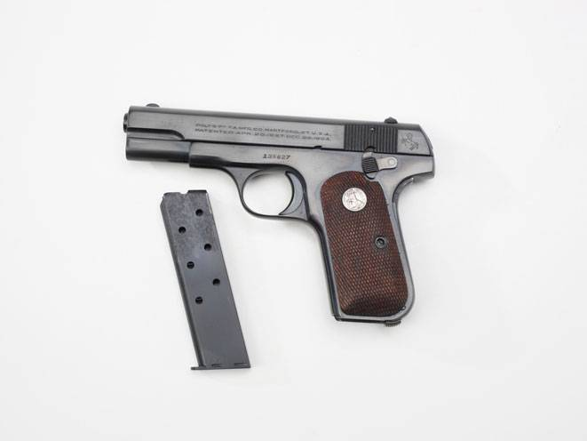 Colt model 1903/1908 - internet movie firearms database - guns in movies, tv and video games