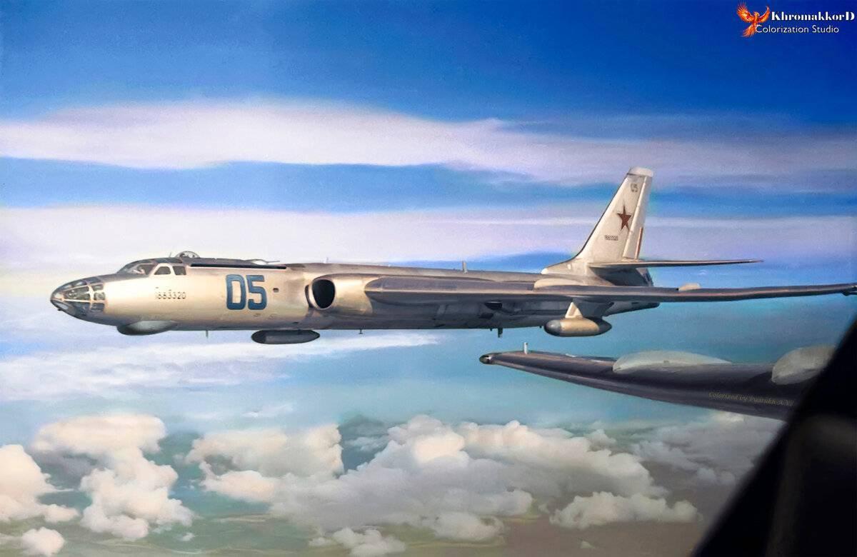 Бомбардировщик ту-16: технические характеристики