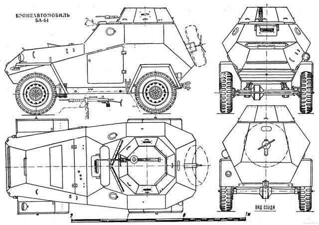 БА-64 – бронированный «Иван-Виллис»